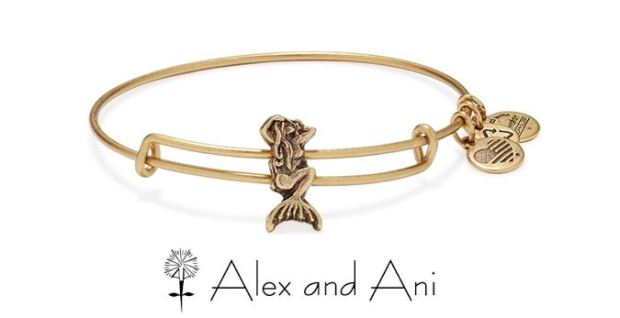 Alex and Ani Mermaid Slider- with logo