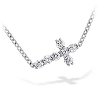 Charmed-Horizontal-Diamond-Cross-Necklace-1