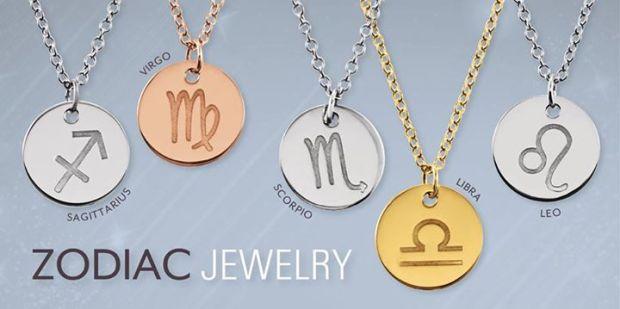zodiac jewelery